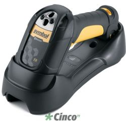 Motorola LS3578 Barcode Scanner (Yellow) – USB Kit with Cradle