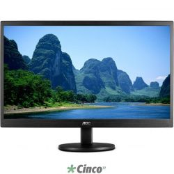 Monitor AOC LED 19.5 Widescreen (1600x900)(VGA) E2070SWNL