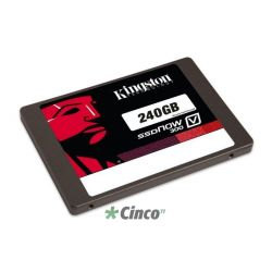 "SSDNow Kingston V300 Series, 2.5"", 240GB, SATA III, Interno, SV300S37A/240G"