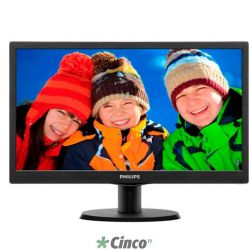 "Monitor LED Philips 15,6"" 163V5LSB23"