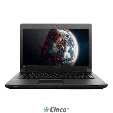 Notebook B490, Intel Cel-1000M, Disco 500GB, Memória 4GB, DVDRW-CDRW, 14.0 HD LED, Windows 8 Single Language 64