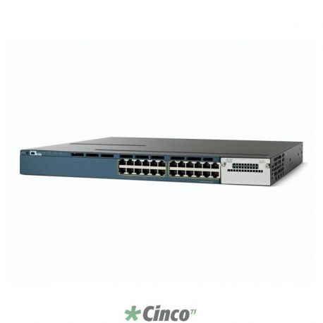 Switch Cisco 24 Portas WS-C3560X-24T-S