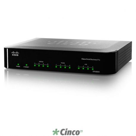 Cisco Gateway IP Telefonia SPA8800