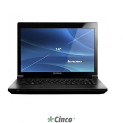 "Notebook Lenovo B490, Cell-1000M, 500GB, 4GB, 14"" 37722BP"