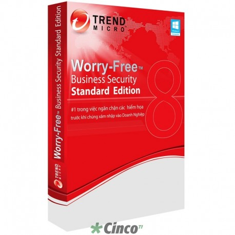 Software Trend Micro Worry Free Business Security Standard 5-25 users Ren 1 Year WFBSR-STD25