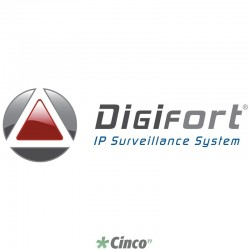 Digifort Enterprise: pack adicional p/ 8 câmeras DGFEN1108V6