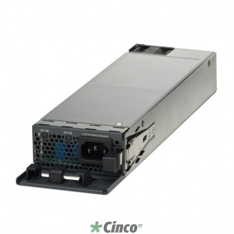 Fonte Cisco de 350W AC para switches, C3KX-PWR-350WAC