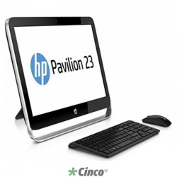 "All in one HP, 16"", Intel Core i5-4670, 4GB RAM, HD 500 GB, QZ282AA - Produto Descontinuado"