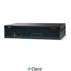 Roteador 2900 Series Cisco, CISCO2911-SEC/K9
