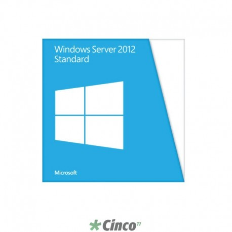 Licença e Mídia do Windows Server 2012, 701591-201