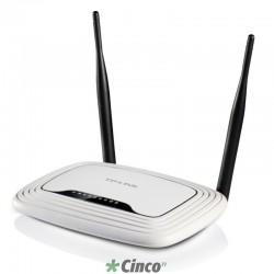 Roteador TP-Link, Wireless N, 300M, TL-WR841ND