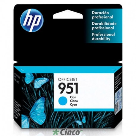 Cartucho de Tinta HP-951 Officejet, CN050AL