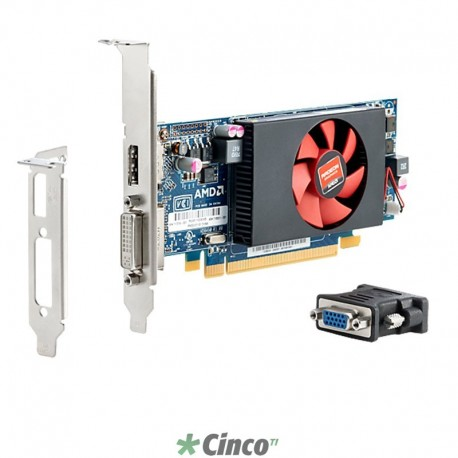 Placa de vídeo AMD Radeon HD 8490 DP (1 GB) PCIe x16, E1C64AA