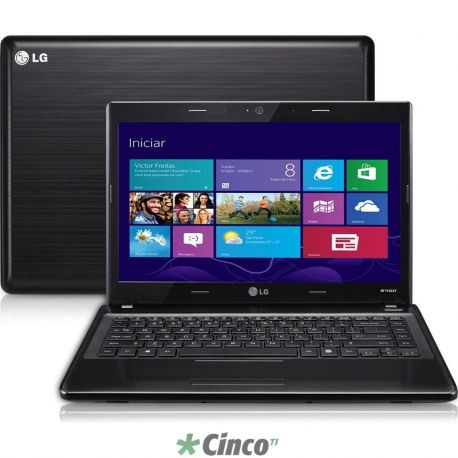 "Notebook LG, Core i3, 4GB, 320GB, LED 14"", Win 8"