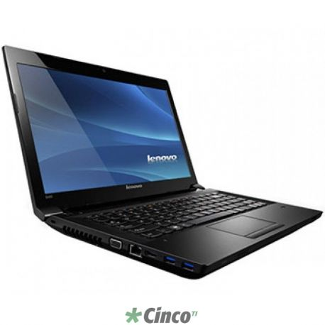 Notebook B490, Intel Core i3-3110M, Disco 500GB, Memória 4GB