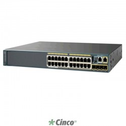 Switch Cisco Plus Series, 24 portas 10/100, WS-C2960+24LC-L