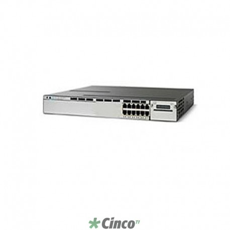 Switch Cisco Catalyst 3750X, 12 Portas, WS-C3750X-12S-S