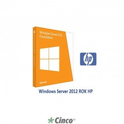 Licença HP Windows Server 2012 701606-201