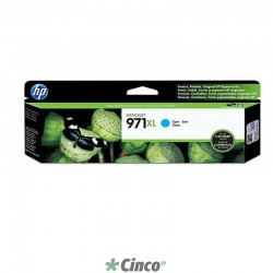 Cartucho de Tinta HP Officejet 971XL Ciano , CN626AM