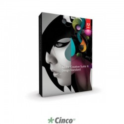 Licença Software CS6 Adobe Design Std Português Full, 65163290AD01A00