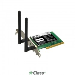 Placa de Rede Linksys Wireless-N, WMP600N