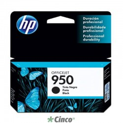 Cartucho de tinta HP Officejet 950 Preto, CN049AL