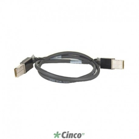 Cabo Cisco para empilhamento de Switches 2960S, CAB-STK-E-1M