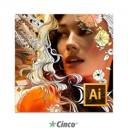 Licença Software Adobe Illustrator CS6 Português Multiplataforma [TLP], 65165832AD01A00