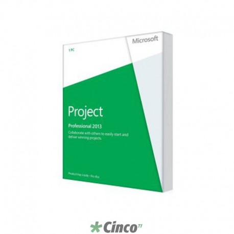 Software Microsoft Project Professional 2013, H30-03701