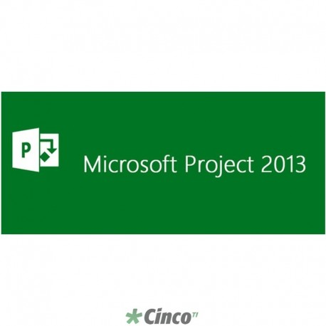 Licença Open Microsoft Project Server 2013 H22-02465