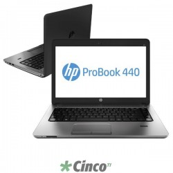 "Notebook HP 440 G2 Intel Core i3-4030U, 4GB RAM, HD 500GB, 14"" LCD, J5N25LT"