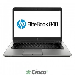"Notebook HP EliteBook 840 G1, Core I7-4600U, 14"", 8GB RAM, HD 500GB, K4L63LT"