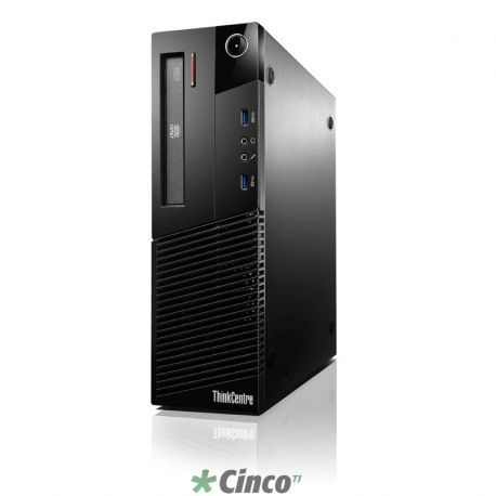 Desktop Lenovo Thinkcentre M93p, Core i5-4570, 3.2Ghz, 4GB, HD 500GB, Win 7 Pro 64 bits