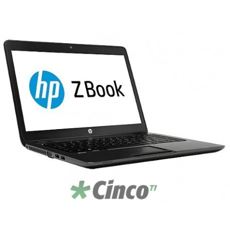 "Workstation móvel HP ZBook I5-4300, 8GB RAM, HD 500GB,14"", G1Q58LT"