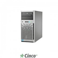 Servidor HP ProLiant ML310e Gen8 v2, sem CPU, 32GB RAM, HD 0GB, 722445-B21
