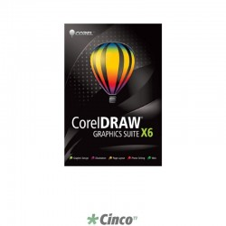 CorelDRAW Graphics Suite X6 Upgrade (Hard Back Book), inglês, CDGSX6ENHBBUG