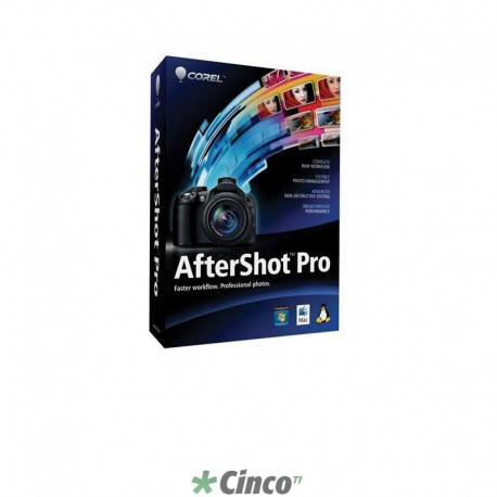 Corel AfterShot Pro 1 Mini-Box, Inglês, ASP1ENMB