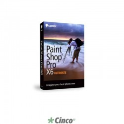 Corel PaintShop Pro X6 Ultimate Mini-Box, Inglês, PSPX6ULENMBAM