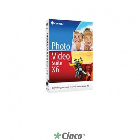 Photo Video Suite X6 MiniBox, Espanhol e Inglês, PVSX6ENMBAM