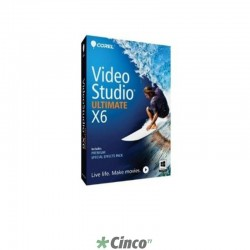 VideoStudio Pro X6 Ultimate Mini-Box, Inglês, VSPRX6ULENMBAM