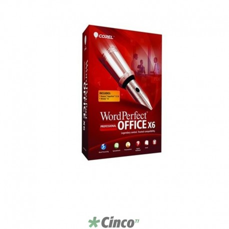 Corel WordPerfect Office X6 Pro Mini-Box, Inglês, WPX6PRENMBAM