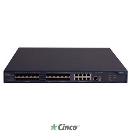 Switch HP A5500-24G-SFP EI com 2 slots de interface