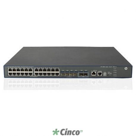 Switch HI HP 5500-24G-4SFP com 2 slots de interface