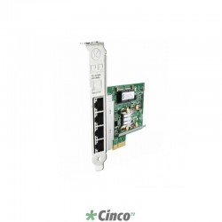 Placa de Rede HP Quad Port Gigabit 593722-B21