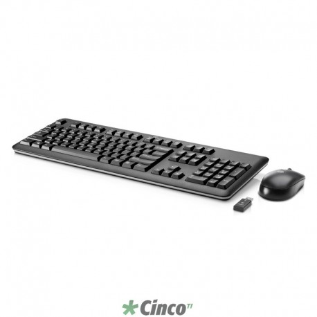 Kit Teclado e Mouse Wireless HP QY449AA