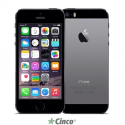 Smartphone Apple iPhone 5s, Cinza Espacial, 16Gb ME432BZ/A