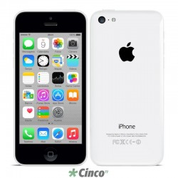 "Smartphone Apple iPhone 5c, 8GB, 4G, 4"" MG8X2BR/A"