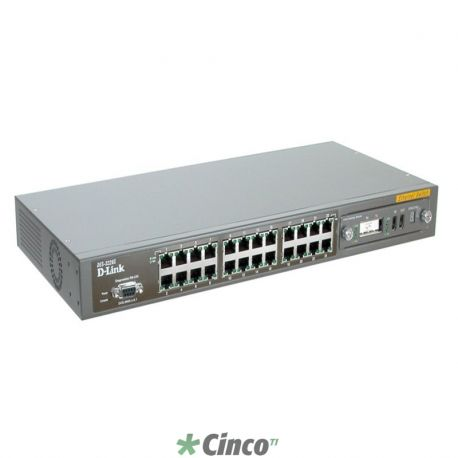 Switch Corporate 24-port 10/100Mbps, 1 slot for modules