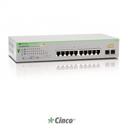 Switch Allied Telesis 16 portas 10/100/1000, 990-003649-10