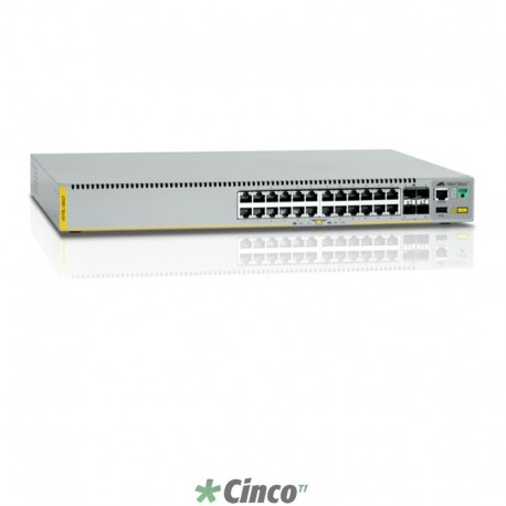 Switch Allied Telesis, 24 portas 10/100/1000, 990-004272-10